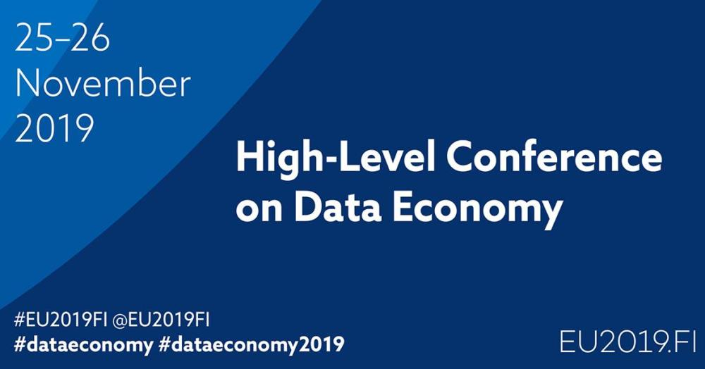 High-level conference brings together experts in data economy