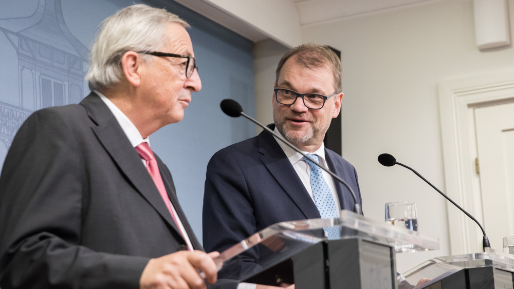 Prime Minister Sipilä holds negotiations with several EU leaders
