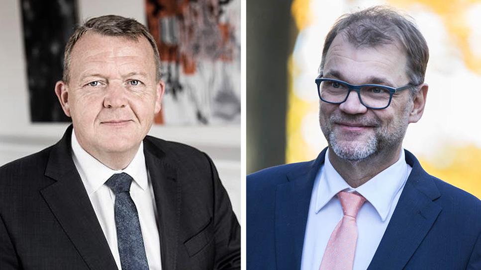 Prime Minister Sipilä and Prime Minister Lars Løkke Rasmussen of Denmark to discuss Finland's forthcoming Presidency of the Council of the European Union