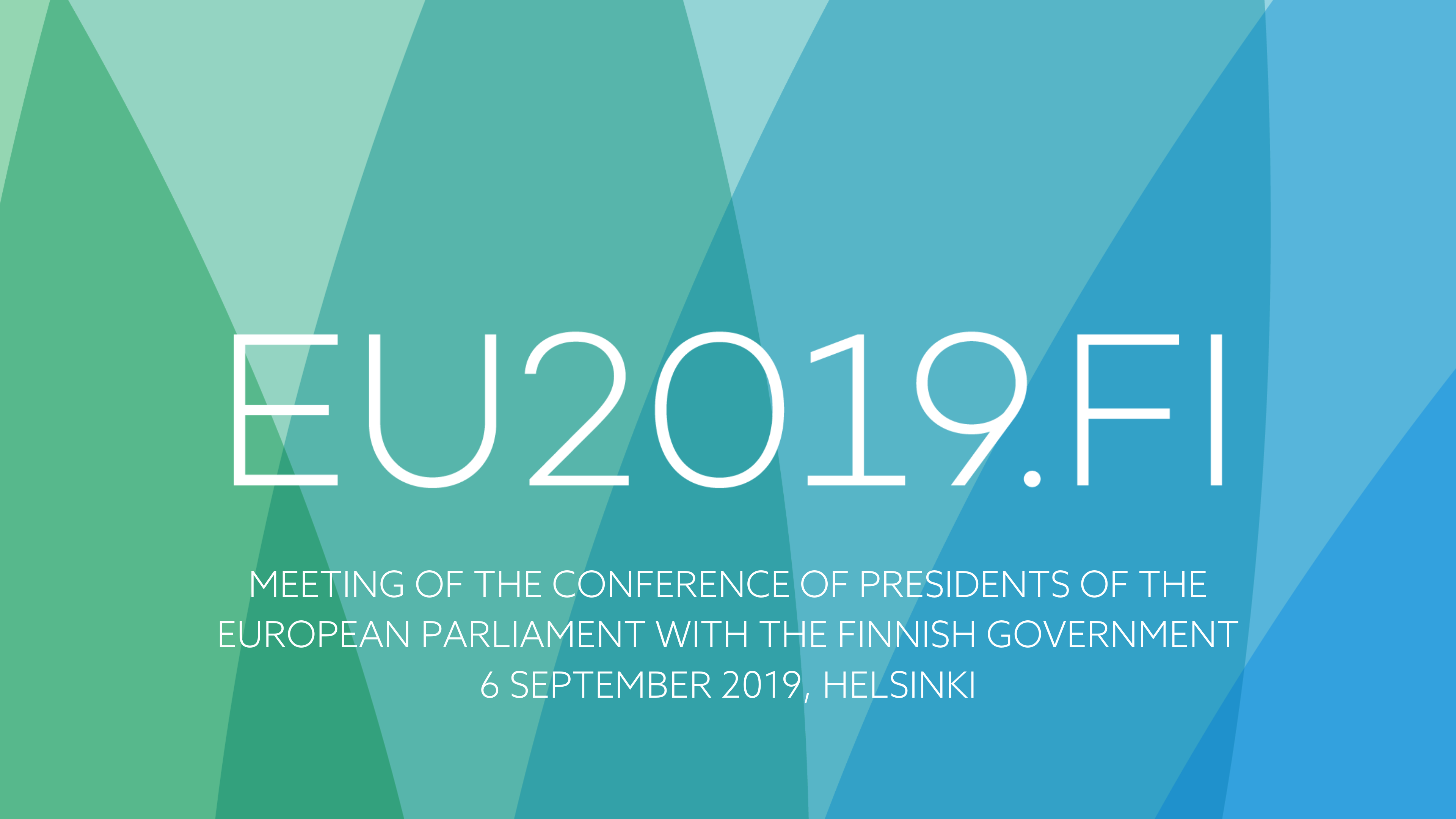 Finnish government met European Parliament's President and