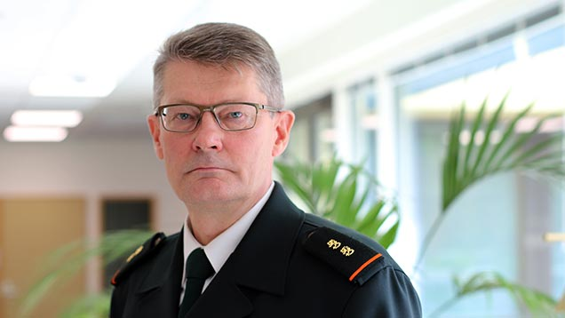 Pasi Kostamovaara appointed as Chief of the Border Guard, Markku Hassinen as Deputy Chief