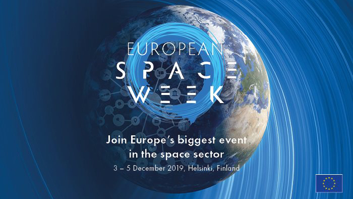 European Space Week in Helsinki on 3–5 December 2019