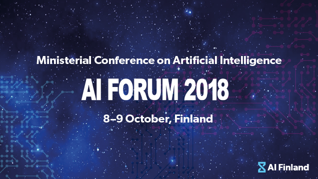 AI Forum 2018: Artificial intelligence to boost European competitiveness