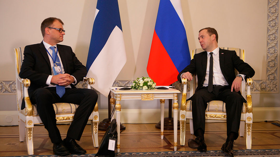 Prime Ministers Sipilä and Medvedev spoke on the phone