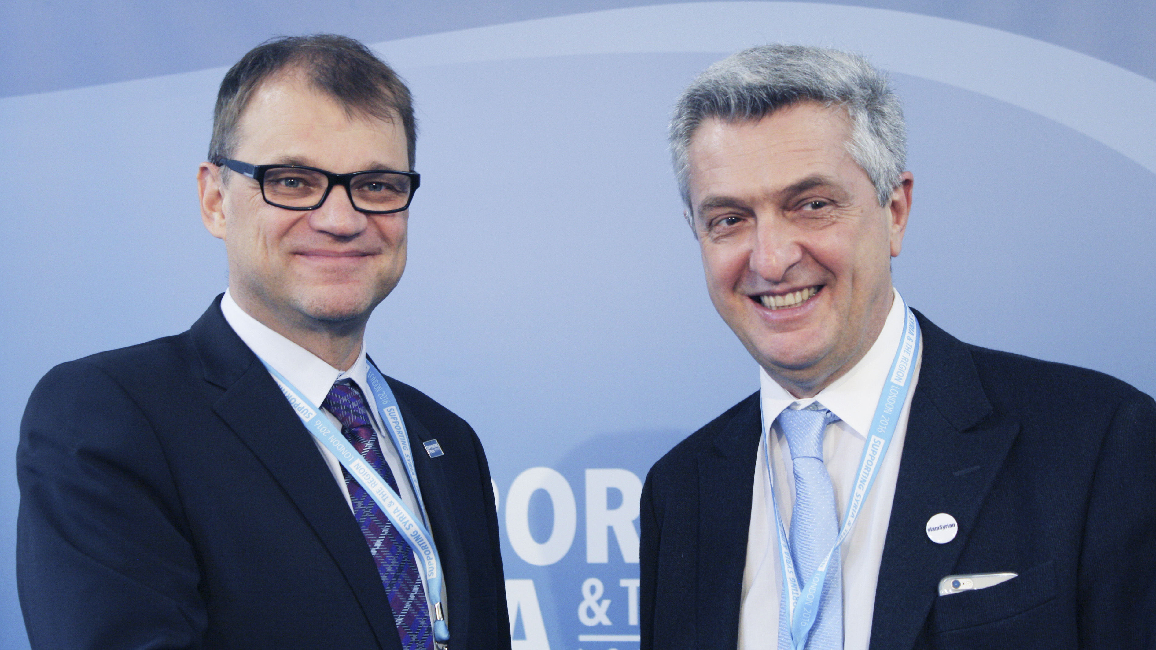 Prime Minister Sipilä participated in the Supporting Syria and the Region Conference in London
