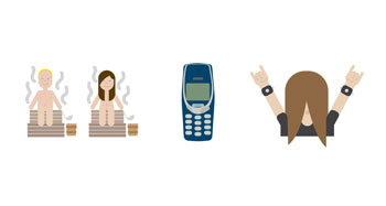 Finland is the first country in the world to launch its own emojis